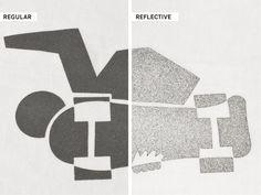 Metallic reflective