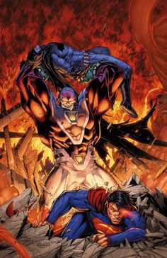 #Superman #Batman #Fan #Art. (BATMAN/SUPERMAN #6 cover) By: BRETT BOOTH. ÅWESOMENESS!!!™ ÅÅÅ+
