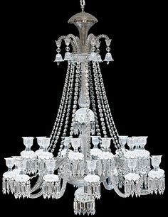 Baccarat Zenith Comete Chandelier, 24 Light...must say  this  is $65,900