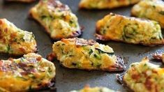 Zucchini Tots are a great way to get your family to eat their veggies! These kid-friendly zucchini tots, made with shredded zucchini and cheese make a great side dish or snack. Ww Recipes, Low Carb Recipes, Cooking Recipes, Healthy Recipes, A Food, Good Food, Food And Drink, Yummy Food, Zucchini Tots