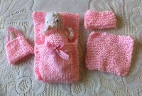 Taffy Lass Knits: Poppet The Dolly Accessories