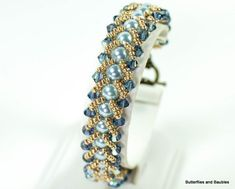 Make yourself a gorgeous looking flat spiral bracelet with this easy to follow tutorial. If you're new to beading, this weave is simple and repetitive. I've made several bracelets using this weave. It's quick and you can create a lot of versatile looks by changing up your bead type and colors. You'll need beading thread [...]