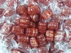 Root Beer Barrel-Shaped Candies