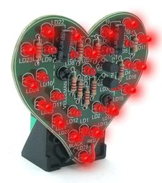LED Flashing Sweetheart Kit... cute valentine for a handsome electrical engineer boyfriend?