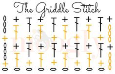 Learn how to #crochet the Griddle Stitch! Video tutorial, photo tutorial, and crochet chart from Mooglyblog.com
