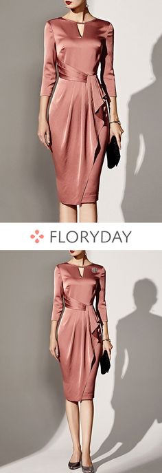 Discover the daily pre order and collections for the latest women's fashion and trends at Floryday. Latest Fashion For Women, Womens Fashion, Girl Fashion, Event Dresses, Women's Fashion Dresses, Dress Patterns, African Fashion, Sheath Dress, Formal Dresses