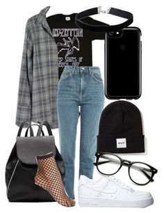 """""""led zeppelin grunge"""" by qimmig on Polyvore featuring Madewell, Topshop, Witchery, Speck, Wolford and Miss Selfridge"""