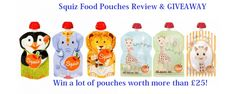 Our Squiz Food Pouches Review tells you why we liked cooking fresh food for our baby and how reusable food pouches help us in the process!