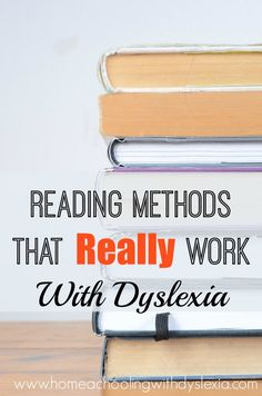 The bottomline in knowing how to teach kids with dyslexia to read is that there are methods and approaches that have been proven to work and those that haven't. Repinned by SOS Inc. Resources pinterest.com/sostherapy/.