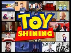 "Great combination of ""The Shining"" and ""Toy Story"" in storyboards.  Beautiful work."