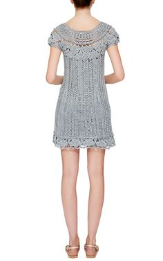 Mithos Dress with Silk Trim by Vanessa Montoro for Preorder on Moda Operandi