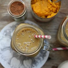These 5 smoothies are delicious, low in calories, and high in protein and healthy fats. Make one today for a slimming and healthy snack or breakfast.