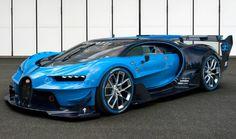 Le modèle unique de la nouvelle Bugatti Vision Gran Turismo | GQ