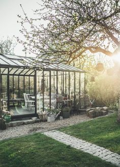 Maybe we should do almost like a greenhouse type area for the back patio, as it leads to the back extension? //