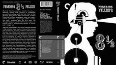 8½ Criterion Collection Blu-ray Custom Cover