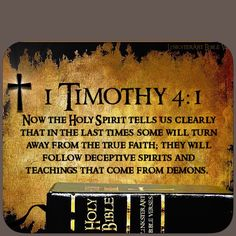 Beware-Stay alert! If it doesn't line up with The Word- don't believe it. There is one God His name is Jehovah- and Jesus is the Son of the Most High- He is Savior, Mighty God, Holy One! He is NOT what other religions call Him. He is not a prophet,or a teacher- He is LORD!!!