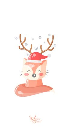 Fox christmas - Marion Blanc