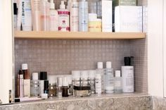 someday I'll be this organized (and own this many products!)