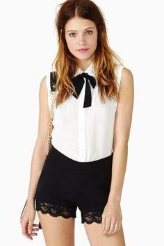 Cherish Lace Shorts    $42.00