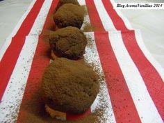 Aroma Vanillias: Μπαγιάτικο κεϊκ = Τρούφες με Γρεναδίνη