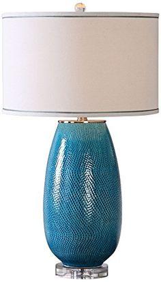 Uttermost 27233-1 Friona - One Light Table Lamp, Sea Blue... https://www.amazon.com/dp/B01HH1C69C/ref=cm_sw_r_pi_dp_x_bNWnyb8YDF6MR