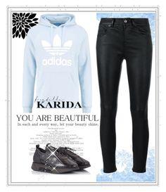 """2 #Fratelli Karida"" by hazreta-jahic ❤ liked on Polyvore featuring Yves Saint Laurent, adidas Originals, Alberto Guardiani and FratelliKarida"