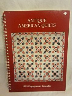 Antique American Quilts 1993 Engagement Calendar Museum Quilts Art Collection #quilting #eBay