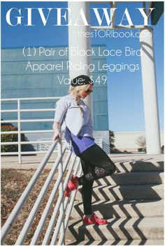 Enter to win a pair of Bird Apparel lace leggings