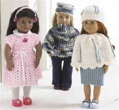 Image Detail for - Free Crochet Patterns to Make Doll Clothes for American Girl Dolls