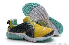 Cheap Womens Nike Lunar Presto Lemon Yellow Aqua Shoes