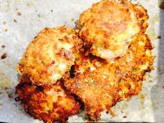 Parmesan, Coconut and Thyme Crispy Chicken