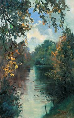 A Small Piece of Heaven in Sergei Tutunov's Paintings (Part I) Aesthetic Painting, Aesthetic Art, Landscape Art, Landscape Paintings, Bel Art, Art Et Nature, Scenery Wallpaper, Francisco Goya, Renaissance Art