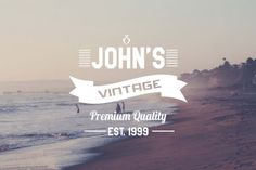 4 Vintage Insignia Logos Instant Download by Symufa on Etsy, $6.00
