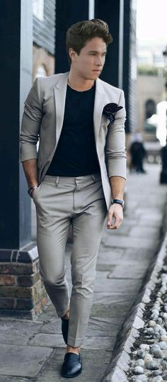 9 Beyond Cool Street Styles Looks For Men - Dress World for Men Tall Men Fashion, Mens Fashion Blog, Mens Fashion Suits, Mens Suits, Fashion Styles, Men's Fashion, Fashion Black, Fashion Tips, Gentleman Mode