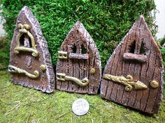 Fairy Garden Doors Miniature Gardening Enchanted by WaWasGarden