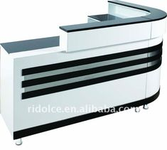 Cash Counter Design, Reception Counter Design, Small Reception Desk, Office Reception Design, Office Table Design, Reception Layout, Showroom Interior Design, Decoration, Desk Layout