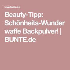 Beauty-Tipp: Schönheits-Wunderwaffe Backpulver! | BUNTE.de