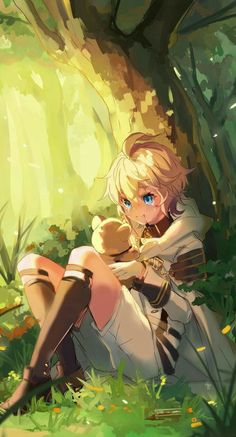 Anime/Manga: Owari no Seraph * Artist: Kagura-Kurosaki Anime Boys, Chica Anime Manga, Kawaii Anime, Anime Art, Mika Hyakuya, Image Manga, Seraph Of The End, Estilo Anime, Owari No Seraph