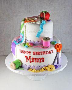 Inspiración torta costurero. Que lo disfruten! (Birthday Sewing. Enjoy!)