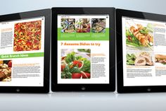 Food e-Magazine for Tablets @creativework247