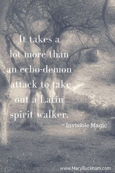 Invisible Magic Book 1 in the Invisible Recruit Series by author Mary Buckham. Follow shaman/witch Alex Noziak as she takes on more than she can handle...or does she? www.marybuckham.com
