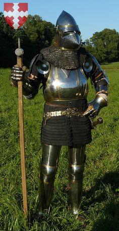 Reconstrucción de armadura completa, C 1400. Complete armor