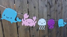 Under the Sea Party Decorations, Under the Sea Banner, Under the Sea Garland, Under the Sea Birthday, Under the Sea Nursery, Photo Prop by CraftyCue on Etsy https://www.etsy.com/listing/508601328/under-the-sea-party-decorations-under