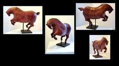 Red playing horse on Behance Sculptures Céramiques, Horse Sculpture, Art Moderne, Equine Art, Horses, Artwork, Red, Behance, Decor