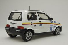 Fiat Cinquecento Abarth Rally Trofeo 1993 factory models 1/43 kit fiat 500 trofeo ales 1993