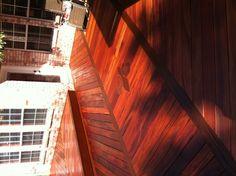 Ipe & tiger wood deck