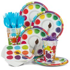 Check out Find Art Party Standard Tableware Kit (Serves and other Birthday Tableware party supplies. The most popular party Supplies… Backyard Party Games, Diy Party Games, Bridal Party Games, Engagement Party Games, Graduation Party Games, Party Ideas, Gift Ideas, Teenage Party Games, Childrens Party Games
