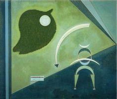 "Wassily Kandinsky - ""Green"", 1931"