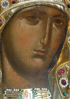 While singing in honour of Your Son, O Mother of God, we all praise you as a living temple; Byzantine Icons, Byzantine Art, Religious Icons, Religious Art, Face Icon, Feminine Mystique, Best Icons, Holy Mary, Art Thou