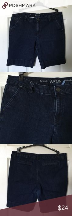 Apt .9 Bermuda Shorts In good condition no stains or rips Apt. 9 Shorts Bermudas